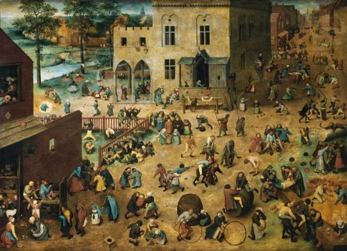 - Wallmonkeys Children's Games Pieter Bruegel The Elder Wall Decal Peel and Stick Graphic WM141762 (30 in W x 22 in H)