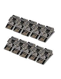10 unids Arduino NRF24L01 + 2.4 GHz Wireless RF Transceiver Module nuevo