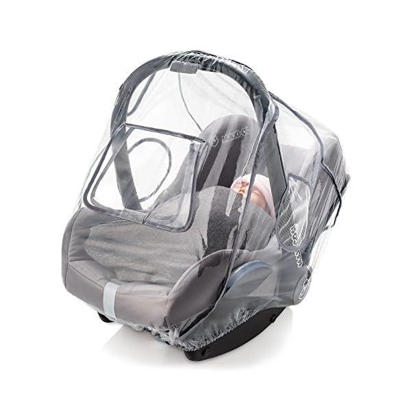 Parapioggia universale comfort per ovetto e seggiolino auto (p. es. Inglesina, Bébé Confort) - buona circolazione dell… 2