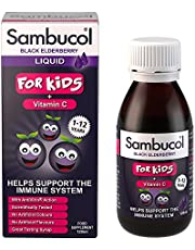 Sambucol Kids Vitamin C Supplement, 120ml, Black Elderberry