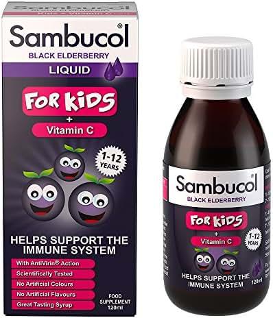 Sambucol Black Elderberry Syrup for Kids