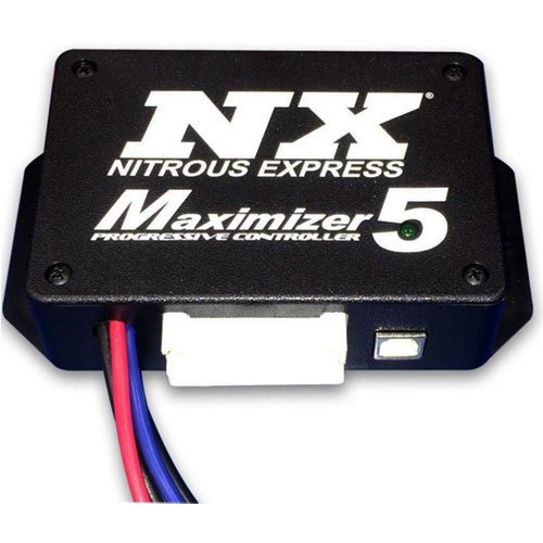 - Nitrous Express 16008 Maximizer 5 Progressive Controller Incl. Internal Drivers For Stage One And Stage Two Operates Up To 4 Separate stages Of Nitrous Maximizer 5 Progressive Controller