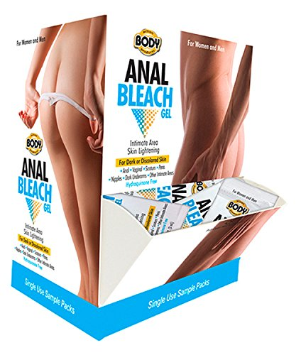 Body Action Anal Bleach Gel - 50 Pieces Display by Sex Toys Online Store