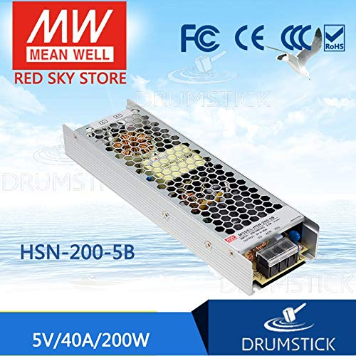 Utini HSN-200-5B 5V 40A HSN-200 5V 200W Single Output Switching Power Supply