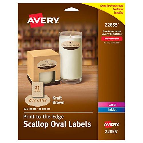 Avery Print Scalloped Diameter 22855 product image