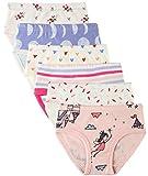 6 Pack Little Girl Underwear Cotton Fit Age 1-7, Baby Girls Panties Toddler Girl's Undies (Princess, 3-4 Years/Waist 16.5'',Height 38''-41'')