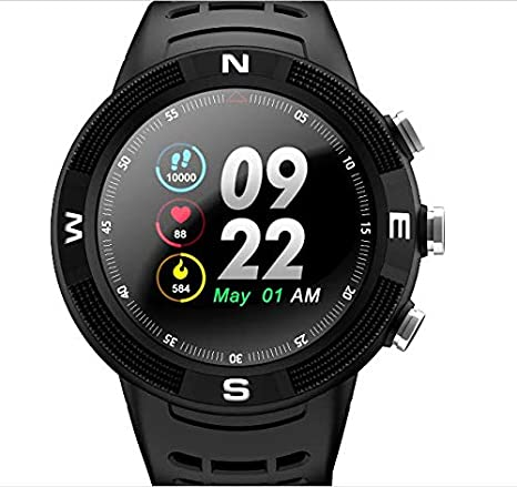 Amazon.com: BOND NO.1 F18 Round Smartwatch Sports Wristwatch ...