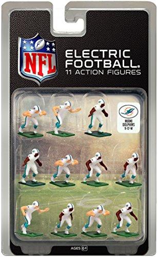 Miami DolphinsWhite Uniform NFL Action Figure Set