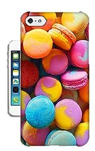 Customizedphonecase Rainbow and Sweet TPU Phone Case For iPhone5c