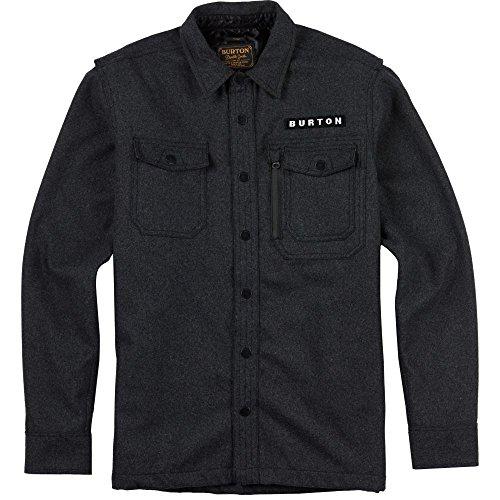 Burton Men's Harbour Wool Cpo Jacket, Dark Ash Heather, X-Large
