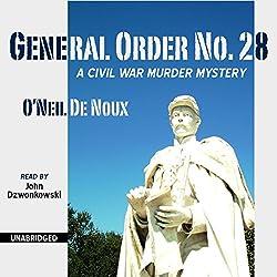 General Order No. 28