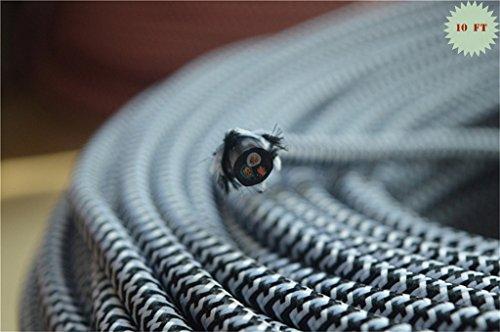 cloth braided wire - 7