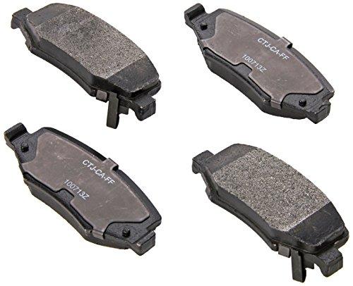 Raybestos SGD1274M Service Grade Semi-Metallic Disc Brake Pad Set