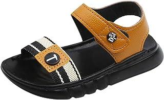 MCYs Lettres d'été pour Les garçons et Les Filles d'été Fond Mou Chaussures de Plage antidérapantes Sandales Chaussures Enfants