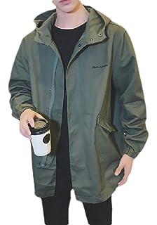 Amazon.com: Gleamfut sudadera con capucha fina para hombre ...