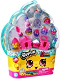 Shopkins Cupcake Queens Sprinkle Party Playset of 12 + 2 Cake Boxes