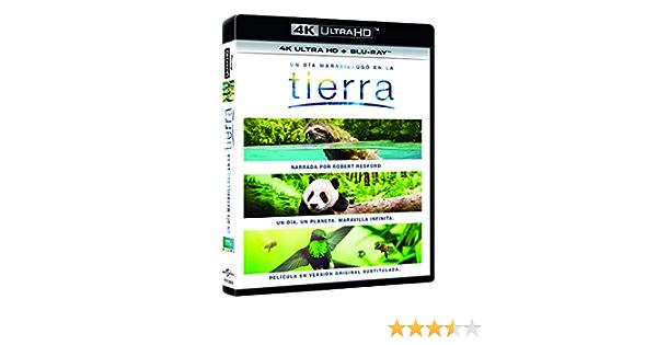 Un Día Maravilloso En La Tierra 4K UHD + BD Blu-ray: Amazon ...