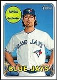 2018 Topps Heritage High Number Baseball #702 Randal Grichuk SP Toronto Blue Jays Official MLB Trading Card