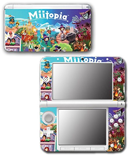 Miitopia Mii Quest Dark Lord Rpg Video Video Game Vinyl Decal Skin Sticker Cover For Original Nintendo 3Ds Xl System