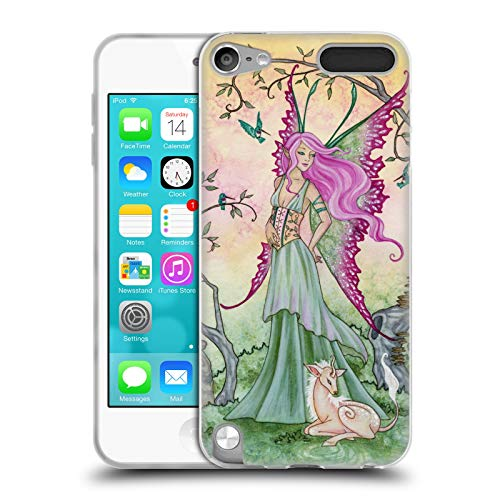 (Official Amy Brown Hummingbird Serenade Elemental Fairies Soft Gel Case Compatible for Apple iPod Touch 5G 5th Gen)