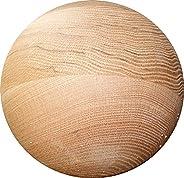 Tai Chi Ball - Large / Advanced Wood Tai Chi Ball (YMAA) 7 - 8 lbs, 8 inches, Oak. Made in The USA Use with Ta