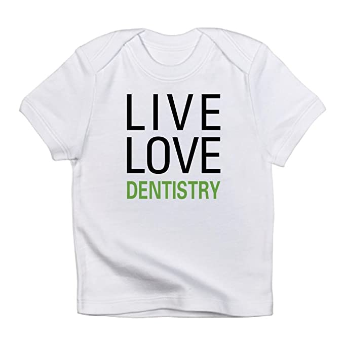 62c4c0cec72 Amazon.com  CafePress - Live Love Dentistry Infant T-Shirt - Cute ...