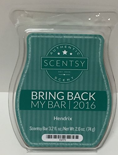 Hendrix Scentsy Wickless Candle Squares