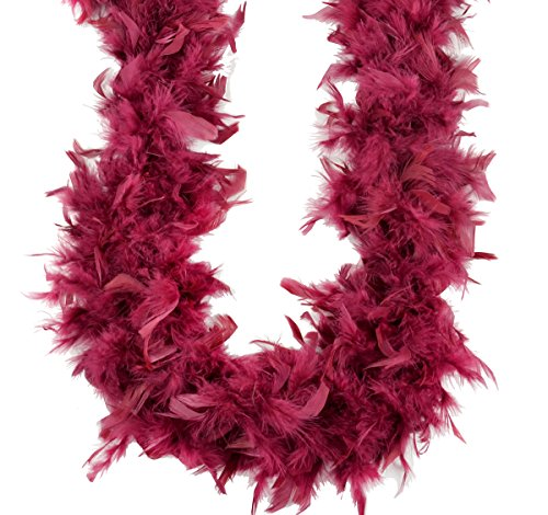Touch of Nature TOUDL 40069 Chandelle Boa, Burgundy 70 Gram 2 Yards. 1pc