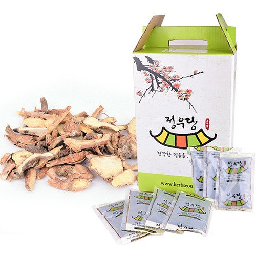 [Jeongwoodang]Finger Root Extract Tea 30EA 1 Month Package/Designed for Women/Diet/Skin Care/Firming/Super Food/핑거루트/手指根 Sold by Stylebang