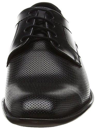 LLOYD Galdo, Scarpe Stringate Uomo Nero (Schwarz 0)
