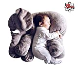MiNRG Giant Elephant Plush Stuffed Animal Pillow