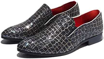 XUEXUE Mens PU Shoe Spring Summer Loafers /& Slip-Ons Driving Shoes Lazy Shoe Casual Breathable Comfort Formal Business Work Party /& Evening Athletic Color : A, Size : 46