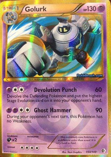 Pokemon Grenzen überschritten 50/14 (DE) Golurk 1, 9