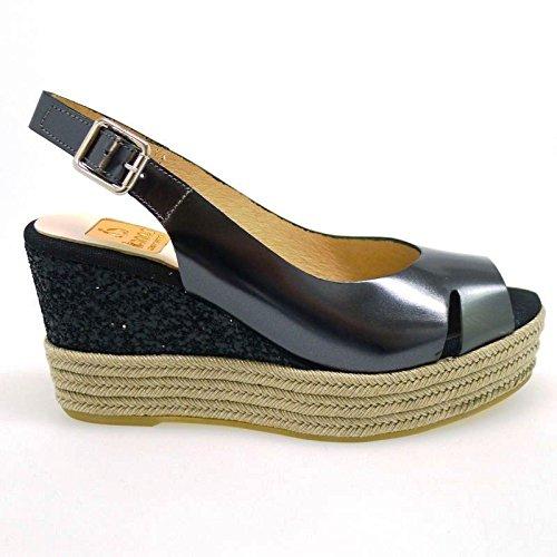 Kanna Alpargatas Online Mujer KV6547 Mirror Plata: Amazon.es: Zapatos y complementos