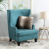 Christopher Knight Home 299893 Canterbury Arm Chair, Teal