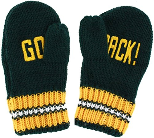 youth green bay football gloves - 8