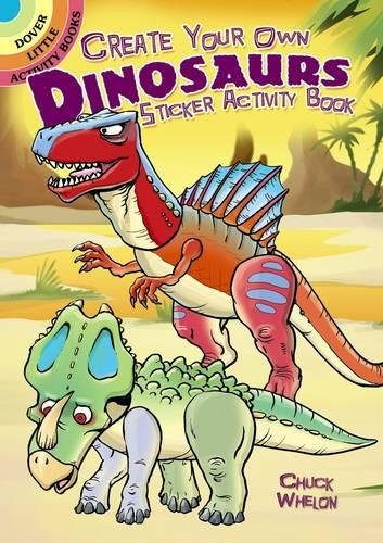 Match Sticker Activity Book - Create Your Own Dinosaurs Sticker Activity Book
