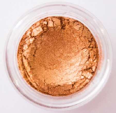 Glamour My Eyes Mineral Eyeshadow - Bronze (Shimmer) - Is A Bronze Mineral