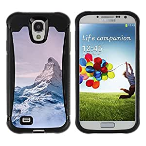iArmor / Mountain Snow Sky High White Blue / Samsung Galaxy S4 I9500