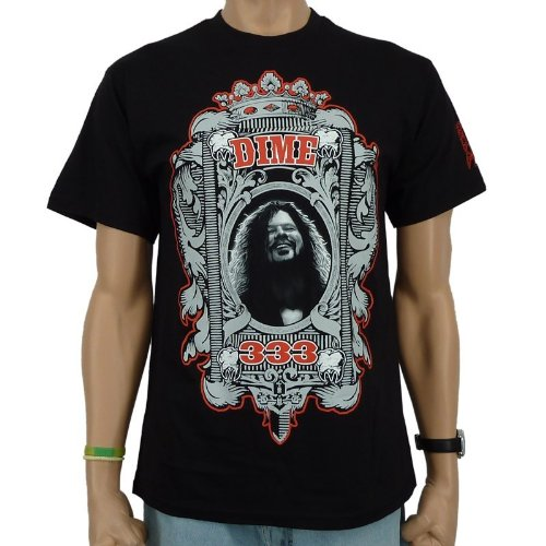 Dimebag Hardware - Shout Label Band T-Shirt, schwarz