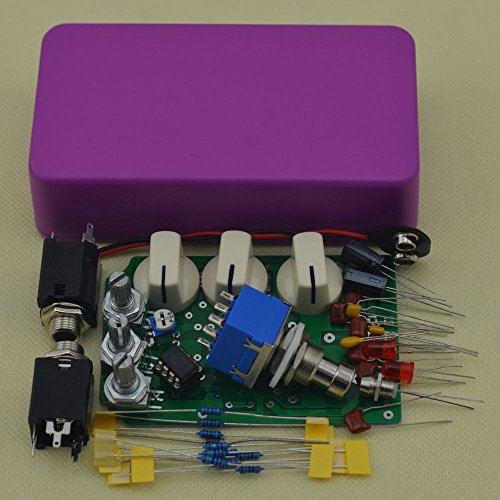 (DIY Distortion Guitar Effect Pedals Kits DS-1 with 1590B Size Box)