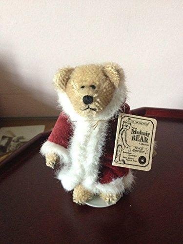 - Boyds Bears Nicolas Bearington Mohair Teddy Bear - Santa Outfit - 4.5