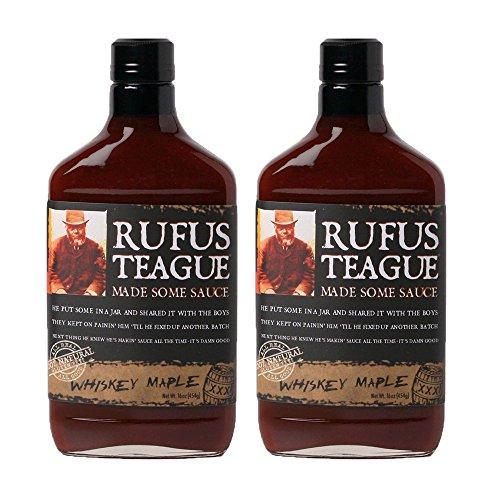 Rufus Teague's Award Winning BBQ Sauces - OU Kosher - Whiske