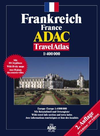 ADAC TravelAtlas Frankreich: 1:400000