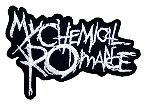 Scout Costume Biker (My Chemical Romance Rock Band Logo T Shirts MM33 Iron on Patches # WITH FREE)