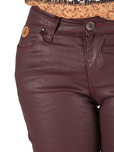 Femme Granate Capitn Pantalon Denim Coated Hardy wUqWWxFnt