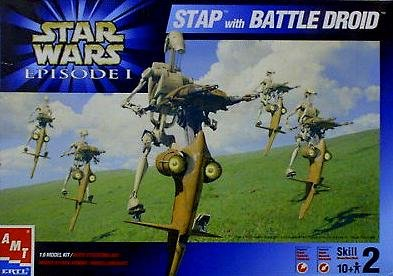 Star Wars Battle Droid Model