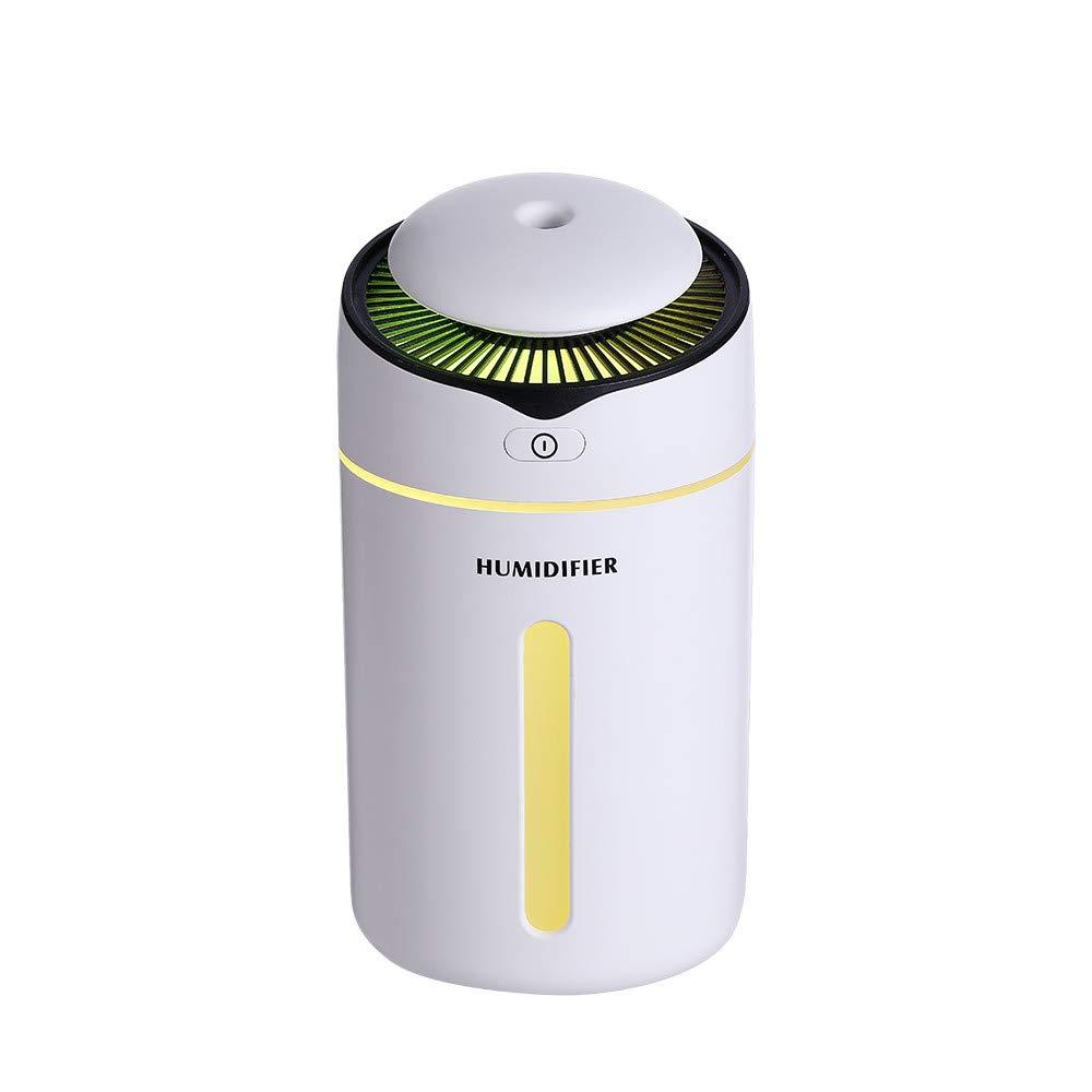 Dtuta Lampes Salon,M/éNage Lampes De Chevet /ÉConomie D/éNergie Portable Multifonction Rond Couleur Unie Humidificateur LED