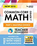 img - for Argo Brothers Math Workbook, Grade 7: Common Core Math Multiple Choice, Daily Math Practice Grade 7 book / textbook / text book