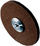 Scotch-Brite 17507 EXL Unitized Wheel, 6'' x 1/2'' x 3/4'' 2S FIN, 6'' Diameter, Abrasive Grit, 5000 RPM (Pack of 4)